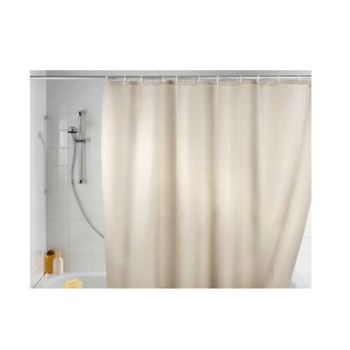 PRIMO ม่านห้องน้ำโพลีเอสเตอร์  DDF010-IV ขนาด 180x180 cm สีงาช้าง