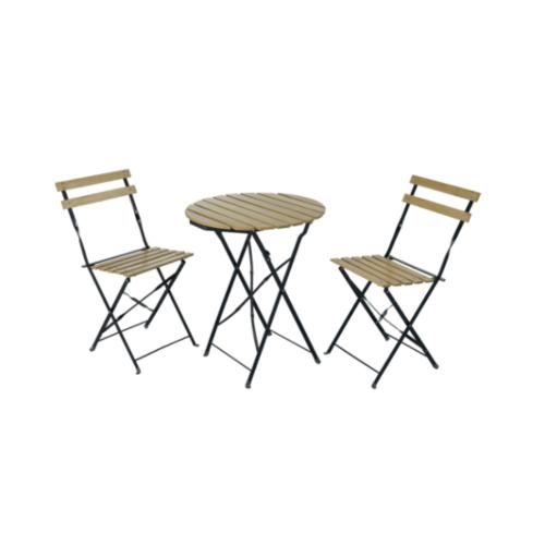 PKJ ชุดโต๊ะสนาม ขนาด 60x60x70 ซม. ZRJ004-N