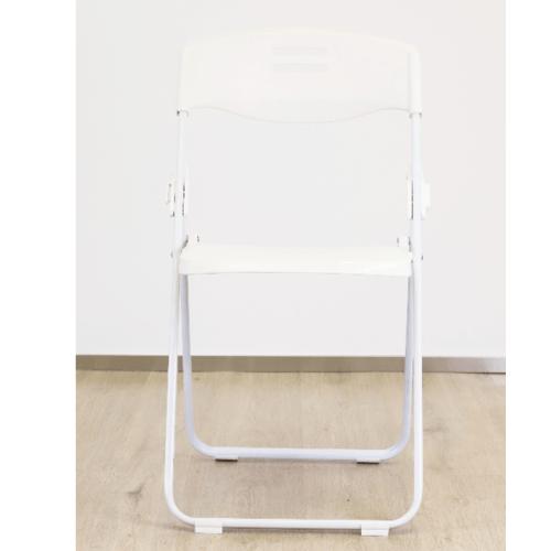 Pulito เก้าอี้พับ  GGW006-WH สีขาว