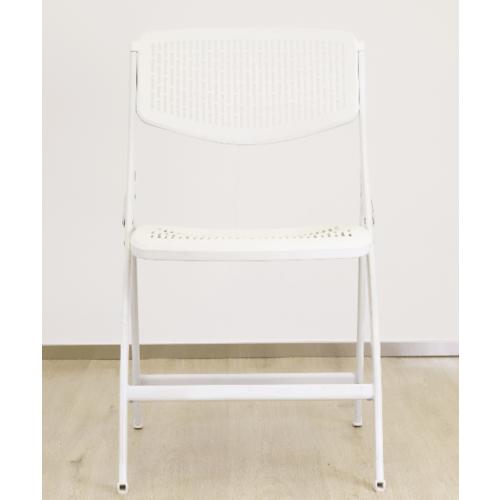 Pulito เก้าอี้พับ  GGW012-WH  สีขาว