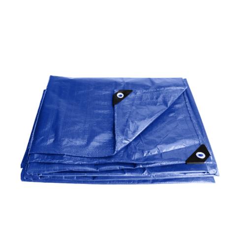 POLLO ผ้าใบเอนกประสงค์ 3m*4m สีฟ้า -