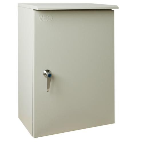 V.E.G. ตู้กันน้ำแบบมีหลังคา  SBP-00 สีเทาอ่อน