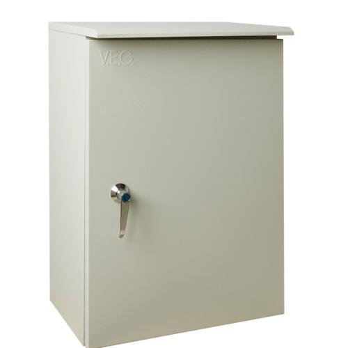 V.E.G. ตู้กันน้ำแบบมีหลังคา  SBP-5 สีเทาอ่อน