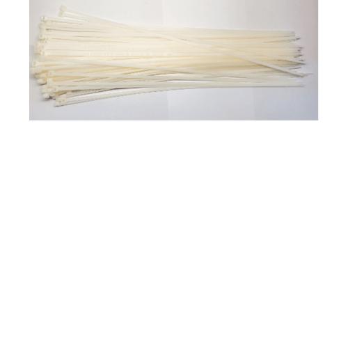 V.E.G. เคเบิ้ลไทร์4.8x40016นิ้ว - สีขาว