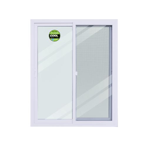 Wellingtan หน้าต่างไวนิล บานเลื่อน SS ขนาด 120cm.   WEIG1215-2P สีขาว