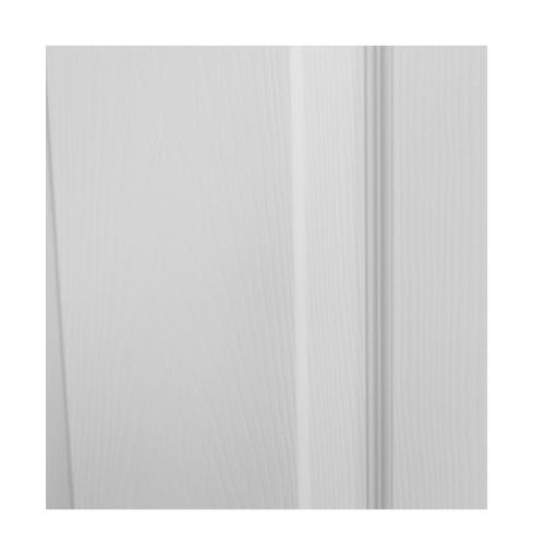 HOLZTUR ประตู HDF บานทึบ 6ฟัก ขนาด 80x200ซม. HDF-006 สีขาวลายไม้