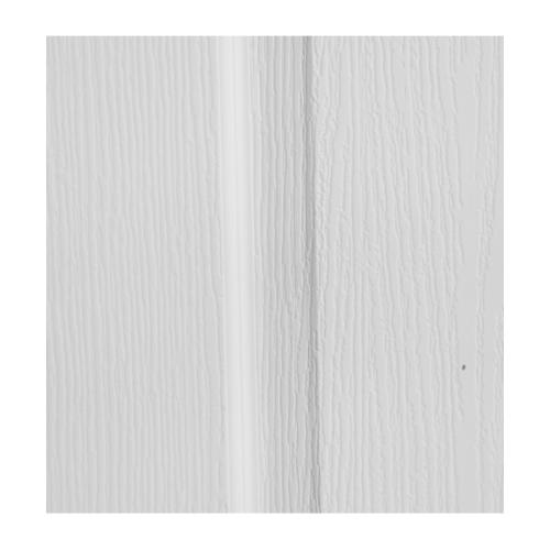 HOLZTUR ประตู HDF บานทึบ ลูกฟัก ขนาด 80x200ซม.  HDF-007 สีขาวลายไม้