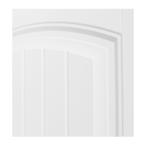 HOLZTUR ประตู HDF บานทึบ 2ฟักทำร่อง ขนาด 80x200ซม.  HDF-S04  สีขาว