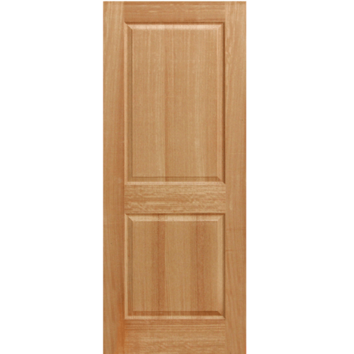 HOLZTUR  ประตูปิดผิววีเนียร์ไม้มะฮอกกานี  80x200ซม. ENR-017