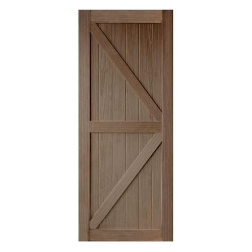 HOLZTUR ประตูปิดผิววีเนียร์ไม้แบล็ควอลนัท ขนาด 80x200ซม.  ENR-SK09