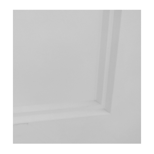 HOLZTUR  ประตู HDF บานทึบ 5ลูกฟัก ขนาด 80x200ซม.  HDF-S09 สีขาว