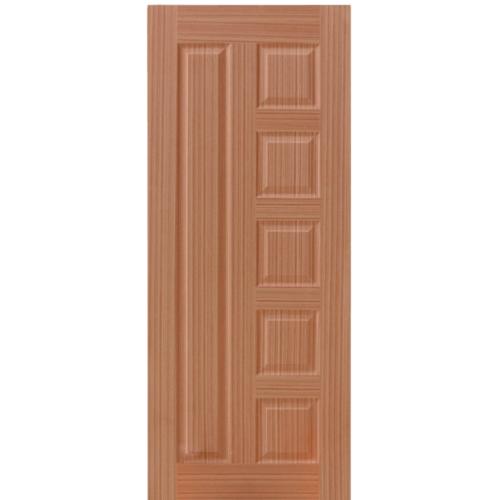 HOLZTUR ประตูปิดผิววีเนียร์ ขนาด 80x200ซม. SAPELE ENR-010