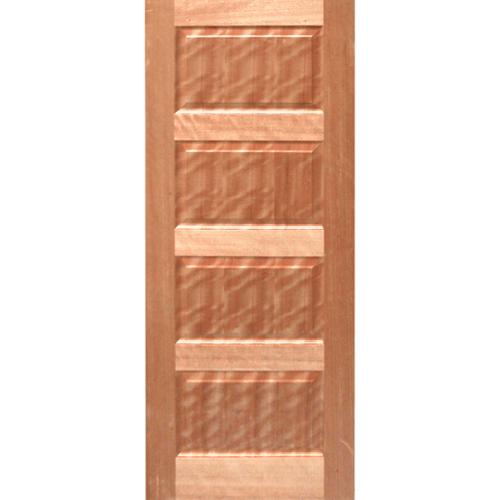 HOLZTUR ประตูปิดผิววีเนียร์ไม้มะฮอกกานี 80x200ซม. ENR-011