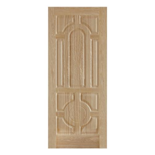 HOLZTUR ประตูปิดผิววีเนียร์ไม้เรดโอ๊ค ขนาด 80x200ซม. ENR-018 สีน้ำตาลอ่อน