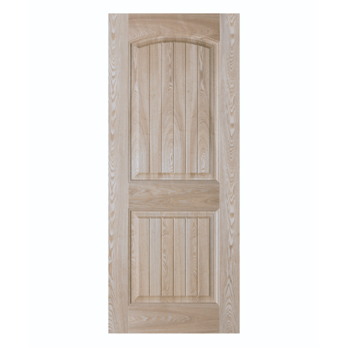 HOLZTUR ประตูปิดผิววีเนียร์ไม้เรดโอ๊ค  ขนาด 80x200ซม. ENR-S04