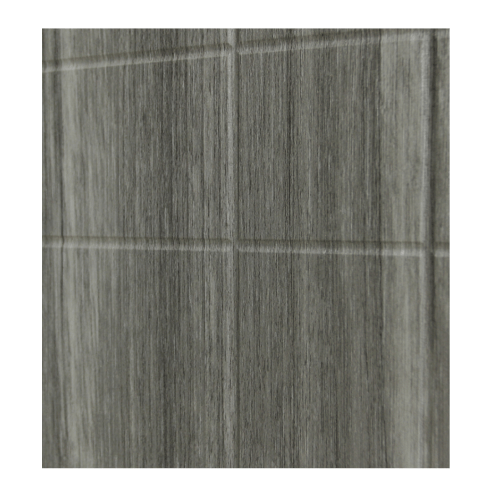 HOLZTUR ประตูปิดผิวพีวีซี บานทึบทำร่อง ขนาด 80x200ซม. PVC-P24-2  GRAY PINE