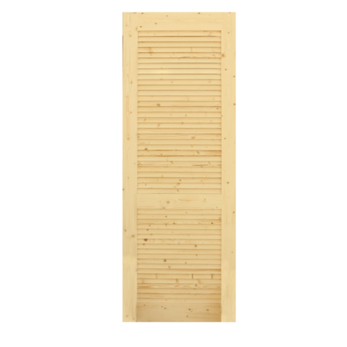 GREAT WOOD  ประตูไม้สน เกล็ดเต็มบาน ขนาด 70x200ซม.  PW-FLD