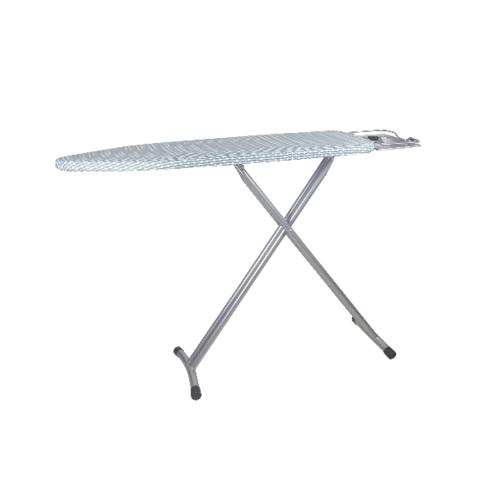 LUXUS โต๊ะรีดผ้ายืนรีดขนาด 33x131x91ซม.  SBD007-S  สีขาว
