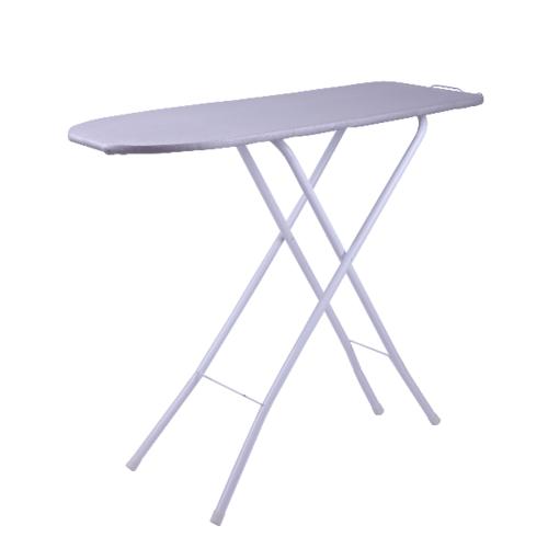 LUXUS โต๊ะรีดผ้ายืนรีด ขนาด 30x90x85ซม.  SLX001 สีขาว