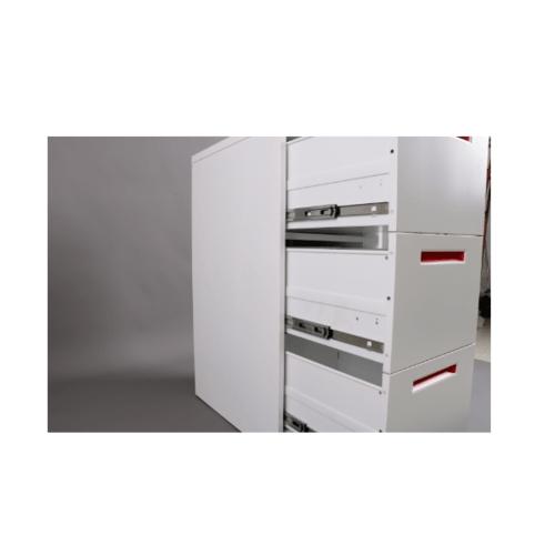 ULA ตู้ลิ้นชักเก็บเอกสาร 3 ชั้น 45.2x62x103.1ซม.  BDL11 ขาว-ส้ม