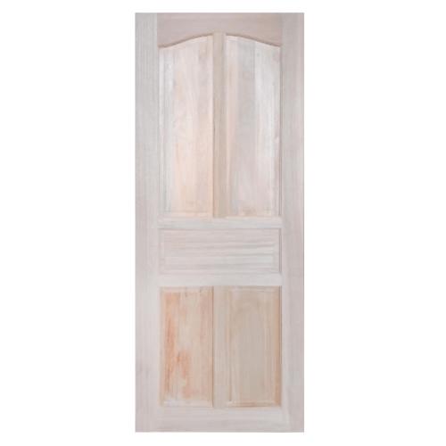 GREAT WOOD ประตูไม้แดง บานทึบ 5ฟัก 80x200ซม.  MYS-MD8 (5P)
