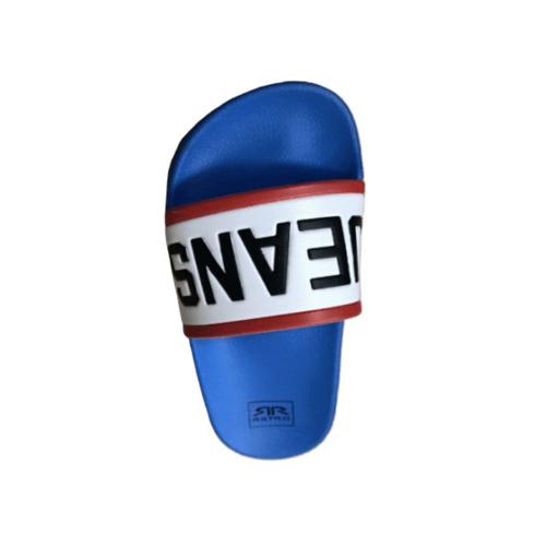 Primo รองเท้าแตะลายRetro LY1514-43BL สีน้ำเงิน