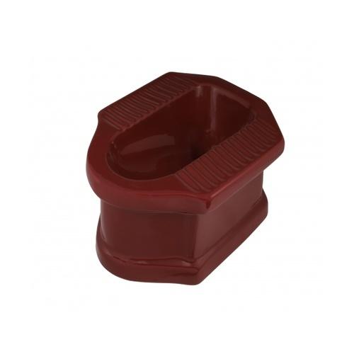 IRIS นั่งยองฐานสูง มอร์แกนIR-126C   สีแดง