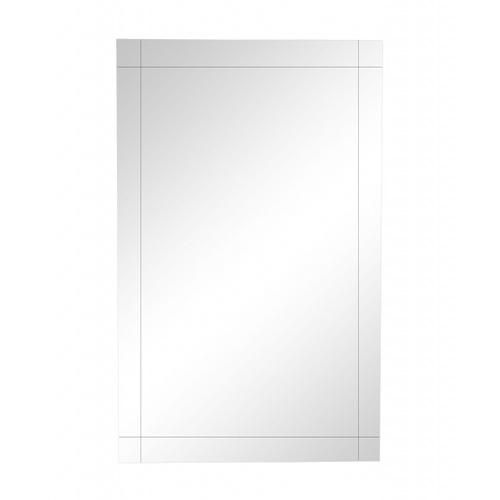 NICE กระจกเงาทรงเหลี่ยม ขนาด 80x60ซม. PQS-XS6080G
