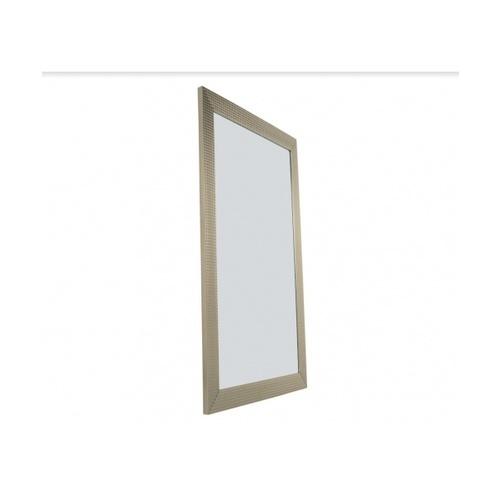 NICE กระจกเงามีกรอบ สีเมทัล 40x60 cm.   243-ZQ-032