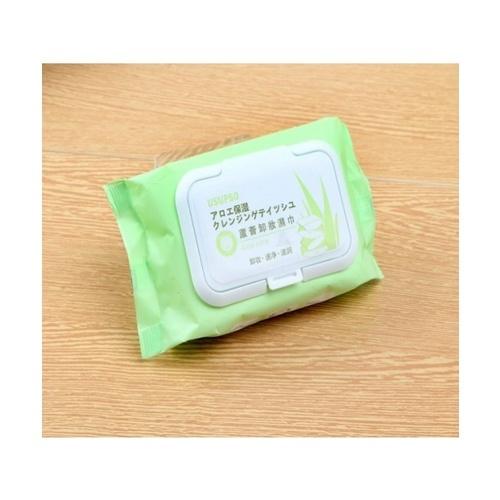 USUPSO ทิชชูเปียก - สีเขียว