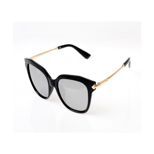 USUPSO แว่นตากันแดดผู้หญิง Trendy box สีดำ