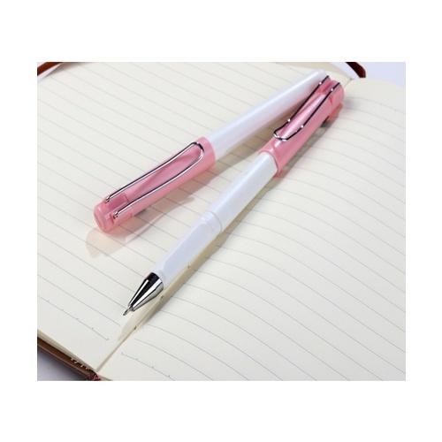 USUPSO USUPSO ปากกาเจล 0.5 mm. สีชมพู (#A)  ขาว