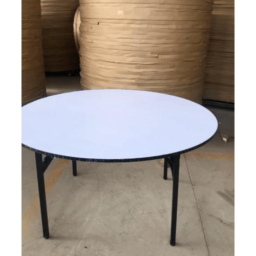 Tree O โต๊ะเอนกประสงค์กลม ขนาด 120ซม. RB-48R-BK สีดำ