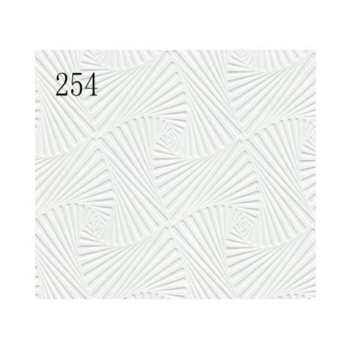 Lisse ฝ้ายิปซั่มทีบาร์ 60*60 รุ่น L254 (10แผ่น/กล่อง)  ขาว