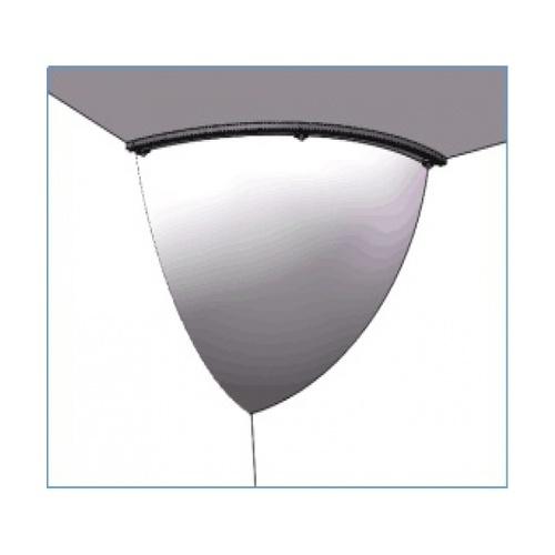 Protx กระจกนูนเข้ามุม(อะคริลิค) เส้นผ่าศูนย์กลาง 30ซม.  รุ่น SHJB019