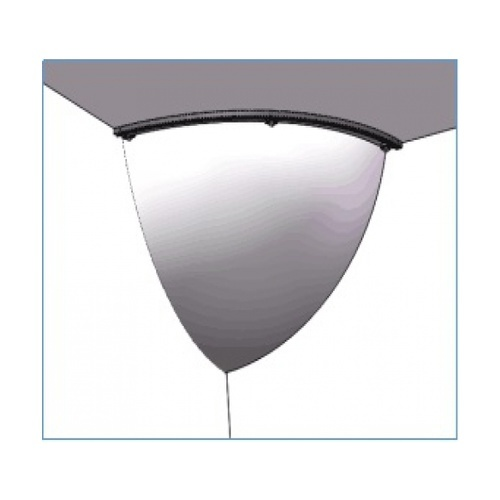 Protx กระจกนูนเข้ามุม(อะคริลิค) เส้นผ่าศูนย์กลาง 60ซม.  รุ่น SHJB022