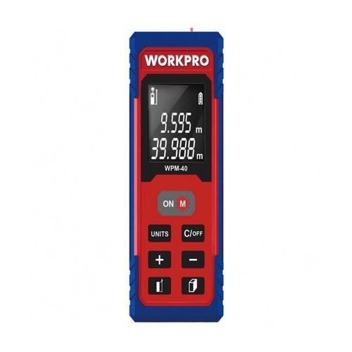 WORKPRO เลเซอร์วัดระยะแบบมือถือ (40 ม.) W068005
