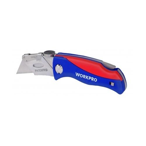 WORKPRO มีดกรีดพับได้ W011009