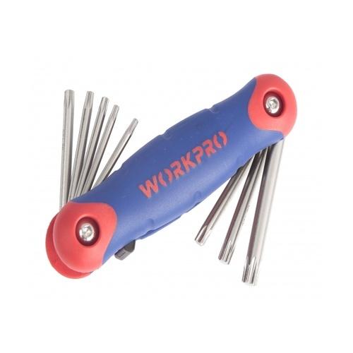 WORKPRO ชุดประแจหกเหลี่ยม(TORX) 8ชิ้น W022003