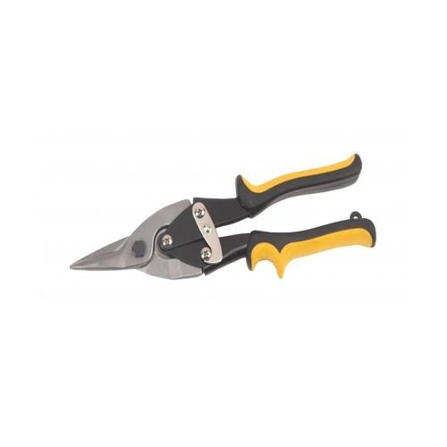 WORKPRO กรรไกรตัดเหล็กปากตรง ขนาด 10นิ้ว W015008 สีเหลือง