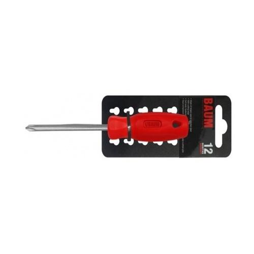 BAUM  ไขควงหัวแฉก ด้ามแดง   316S-PH3X150 MM