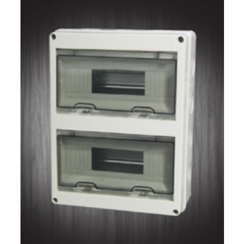 VEG ตู้กันน้ำพลาสติก ฝาใส ขนาด 675x655x108 mm. HT-24WAYS