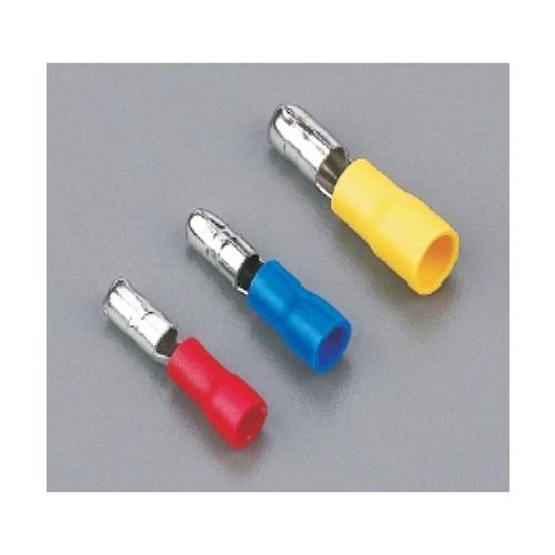 V.E.G หัวเสียบตัวผู้(แบบกลมหุ้ม) F 6B สีเหลือง V.E.G  คละสี