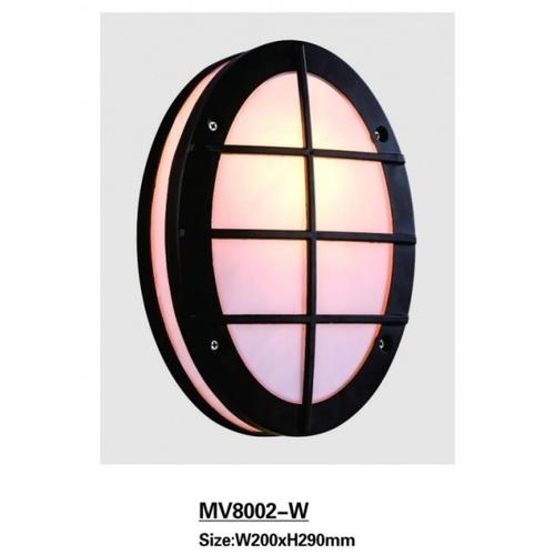 EILON  โคมไฟผนัง  8002-W  สีดำ