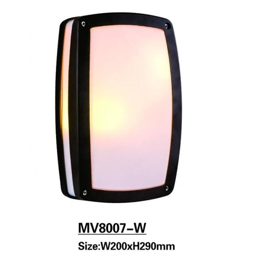 EILON  โคมไฟผนัง 8007-W  สีดำ