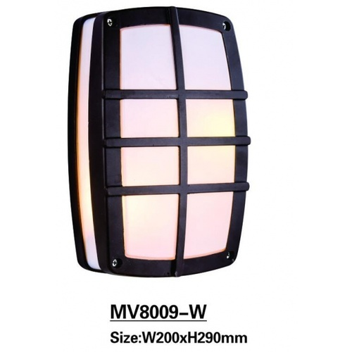 EILON โคมไฟผนัง  8009-W  สีดำ