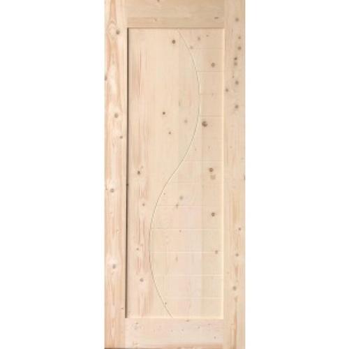 GREAT WOOD ประตูไม้ไวท์วูด บานทึบทำร่องขนาด 80x200ซม.  DPWDR4