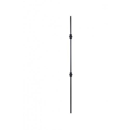 - เหล็กดัดพร้อมลูกกลม 3ชั้น ขนาด 12.7x12.7mm. GB005