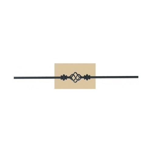 - เหล็กดัดพร้อมลูกกลมและตะกร้อเดี่ยว ขนาด 12.7x12.7mm. GB007