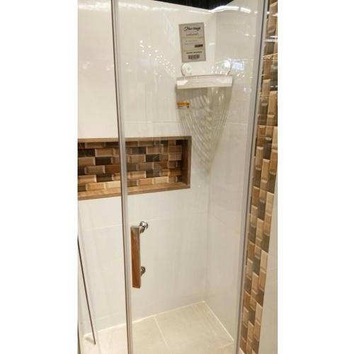 Heritage อะไหล่-ฉากกั้นอาบน้ำ บานเลื่อนเข้ามุมโค้ง 90*90*185 cm.  ใส